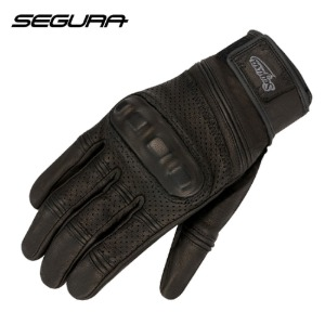 [세구라 클래식 장갑] SEGURA -SPACY LEATHER GLOVE-BLACK-