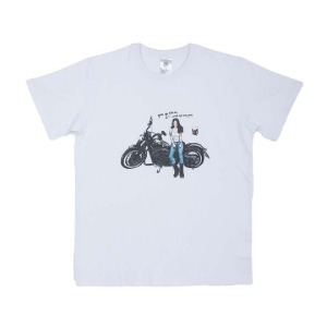 [그리다만 티셔츠]GREEDAMAN-HARLEY GIRL T-SHIRT