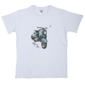 [그리다만 티셔츠]GREEDAMAN-ROMAN HOLIDAY T-SHIRT