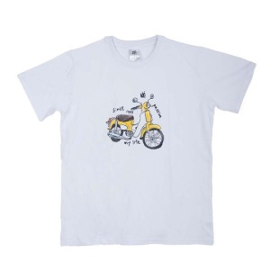[그리다만 티셔츠]GREEDAMAN-YELLOW CUB T-SHIRT