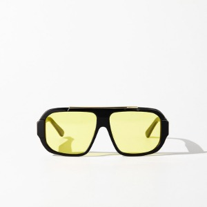 [인다이스 윈드 블럭 선글라스] INDICE - WIND BLOCK SUNGLASSES / BLACK&YELLOW