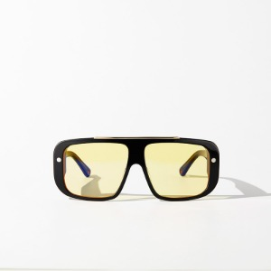 [인다이스 윈드 블럭 선글라스] INDICE - WIND BLOCK SUNGLASSES BOLD / BLACK&YELLOW