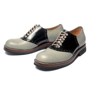 [루트원]ROUTE ONE-	Saddle Shoes twotone - 01 /Grey x Black