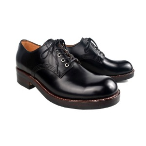[루트원]ROUTE ONE-	OWEN ARMY DERBY SHOES - BK/02
