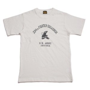 [블랙피피 반팔 티셔츠] BLACK P.P - 334th Fighter squadron T-shirt White
