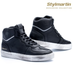 [스타일마틴 라이더 스니커즈] STYLMARTIN - EXCLUSIVE COLLECTION SNEAKERS TONY HOOK LTD BLACK