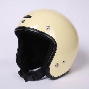 [에딜롯 노벨티 소두핏 오픈페이스 헬멧] EDIROT - NOVELTY OPEN FACE LEATHER CUSTOM HELMET (BLACK)