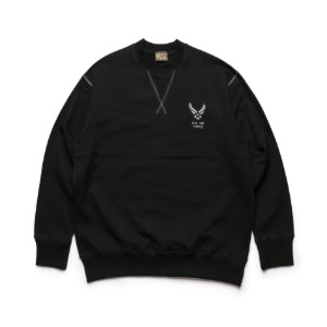 [블랙피피 스웻셔츠] BLACK P.P - Sweat Shirts (BLACK)