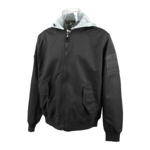 [726기어 항공 자켓] 726 Gear - TS 68 Hood Detachable Flight Jacket (2COLOR)