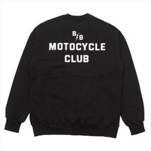 [백야드빌더 스웻셔츠] Backyard builder - B.B SWEAT BLACK