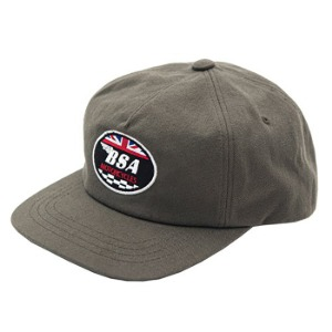 [비에스에이 코튼캡] BSA - LOGO WAPPEN COTTON CAP KHAKI