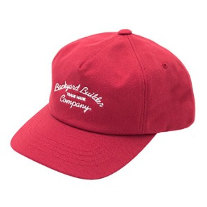 [백야드빌더 코튼캡] Backyard builder - TRADE MARK COTTON CAP RED