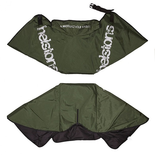 [헬스톤 레그워머] HELSTONS - SCOOTER APRON MILITARY GREEN