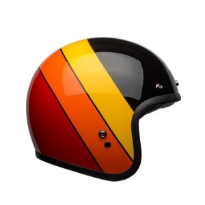 [벨 커스텀500 헬멧] BELL - CUSTOM500 RIFF BLACK/YELLOW/ORANGE/RED