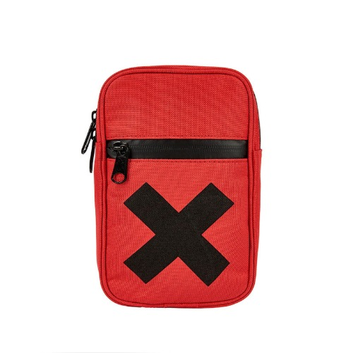 [인다이스 포켓백] INDICE - X POKET Bag (POLY/RED)