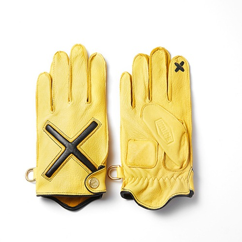 [인다이스 클래식 글러브] INDICE - XDeer Leather Gloves X SMART TOUCH (DEER/Yellow)[PRE-ORDER]