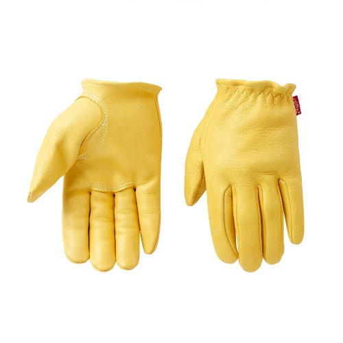 [카이맨 사슴가죽 글러브] CAIMAN KOREA - 1130 RED LABEL GLOVE YELLOW