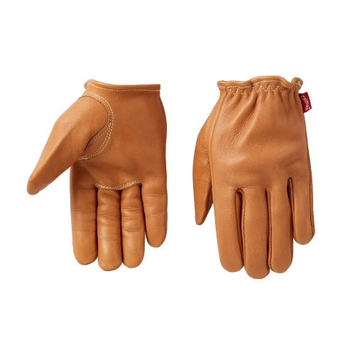 [카이맨 사슴가죽 글러브] CAIMAN KOREA - 1130 RED LABEL GLOVE LIGHT BROWN