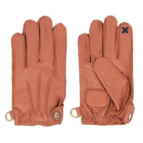 [인다이스 클래식 글러브] INDICE - Leather Classic Gloves SMART TOUCH (DEER/BROWN)