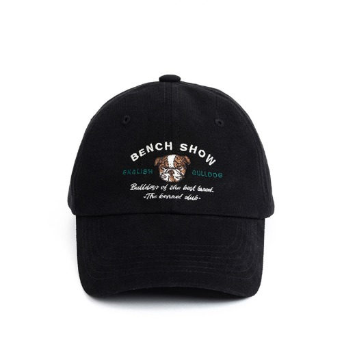 [와일드브릭스] WILD BRICKS - CT KENNEL CLUB CAP (black)