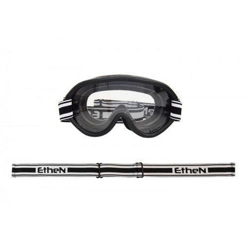 [에텐 고글] Ethen Scrambler goggle 08 Old MX Black