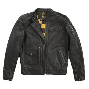 [퓨얼 x 헬스톤 가죽자켓] Fuel X Helstons - Dirt Track Leather Jacket - Black