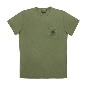 [헬스톤 티셔츠] HELSTONS - T-SHIRT  CHEVIGNON RIDE OLIVE