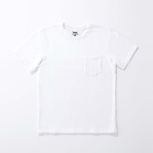 [인다이스 반팔셔츠] INDICE - Heavy Cotton T-shirt (White)