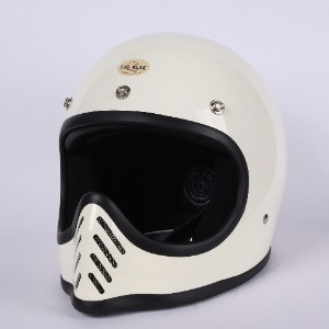 [더블랙 모토 3 헬멧 ]THE BLACK MOTO-3 HELMET (IVORY)