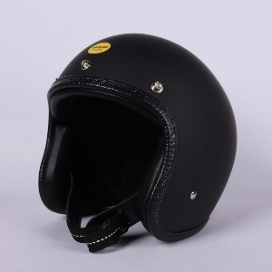 [더블랙 엑스트라 헬멧 ]THE BLACK EXTRA JET HELMET (MATT BLACK)