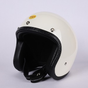 [더블랙 엑스트라 헬멧 ]THE BLACK EXTRA JET HELMET (IVORY)