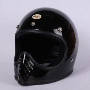 [더블랙 모토 3 헬멧 ]THE BLACK MOTO-3 HELMET      (BLACK)