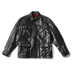 [인다이스 자켓] INDICE - Horse Hide MBrad Leather jacket (BLACK)