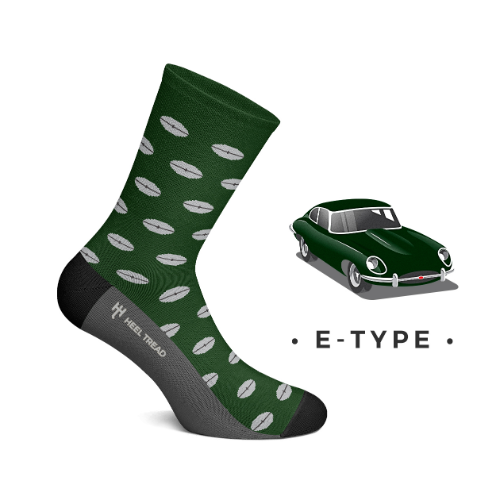 [힐트레드 양말] HEEL TREAD -  E-TYPE SOCKS