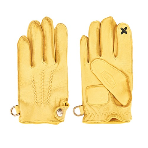 [인다이스 클래식 글러브] INDICE - Leather Classic Gloves SMART TOUCH (DEER/YELLOW)