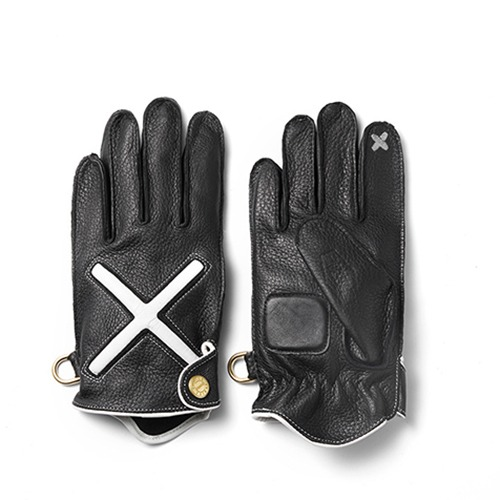 [인다이스 클래식 글러브] INDICE - XDeer Leather Gloves X SMART TOUCH (DEER/Black)