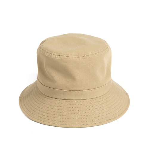 [와일드브릭스] WILD BRICKS - BS RIPSTOP BUCKET HAT (beige)