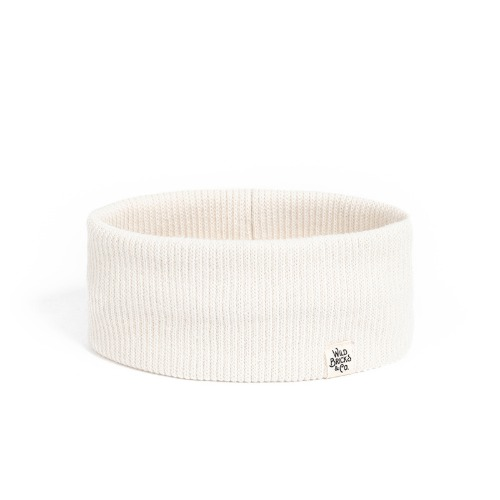 [와일드브릭스] WILD BRICKS - CT BASIC HAIRBAND (ivory)