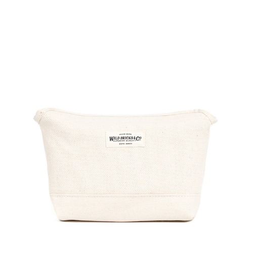 [와일드브릭스] WILD BRICKS - HEAVY CANVAS MAGNET POUCH (ivory)