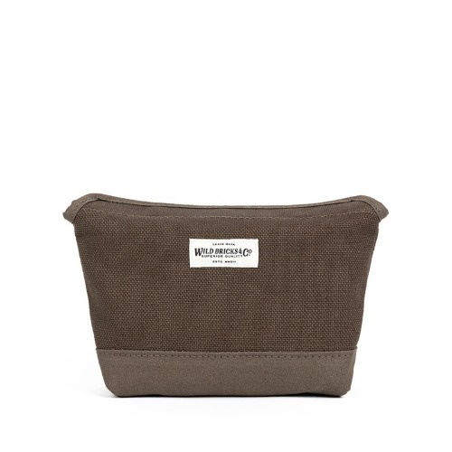 [와일드브릭스] WILD BRICKS - HEAVY CANVAS MAGNET POUCH (khaki)