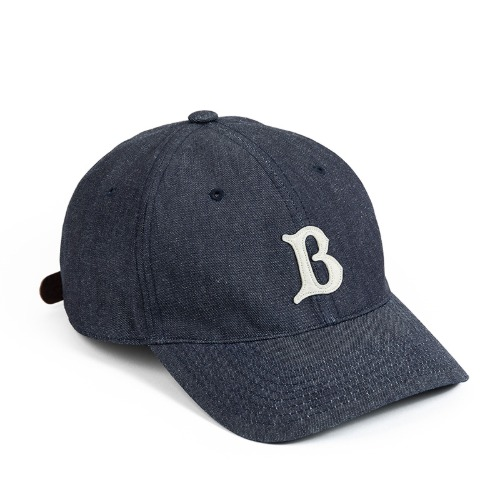 [와일드브릭스] WILD BRICKS - LB DENIM BASEBALL CAP (denim)